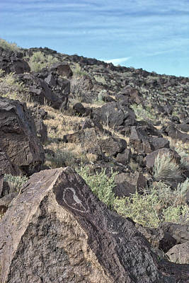 Photograph - Petroglyphs Iv - Albuquerque - New Mexico by Steven Ralser