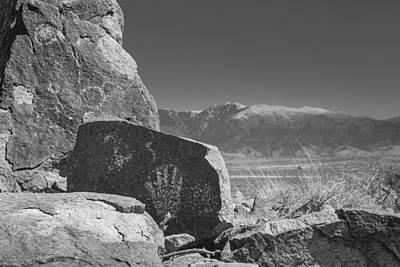 Sacramento Photograph - Petroglyphs by Joseph Smith
