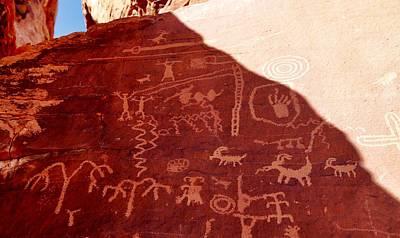 Photograph - Petroglyphs by Sagittarius Viking