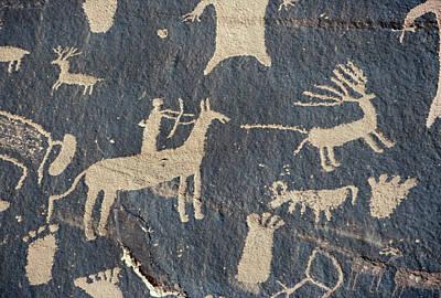 Photograph - Petroglyphs, Utah by Granger