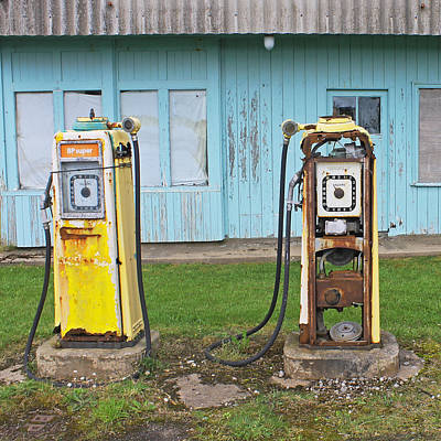Photograph - Petrol Pumps by Tony Murtagh