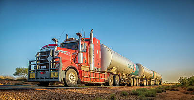 Photograph - Petrol Road Train by Martin Capek