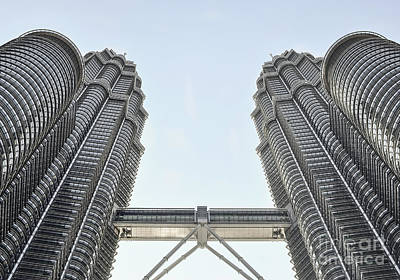Photograph - Petronas Twin Towers by Martin Capek