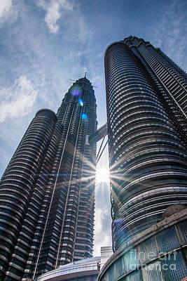 Petronas Twin Towerss Original by Keith Thorburn LRPS