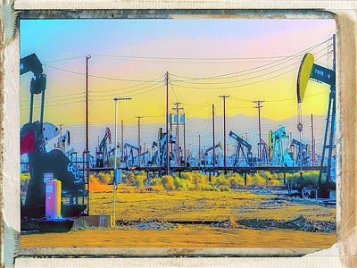 Oil Pumper Photograph - Petrosaurs by Dominic Piperata