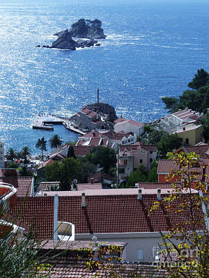 Photograph - Petrovac Harbour And Katic Islands by Phil Banks