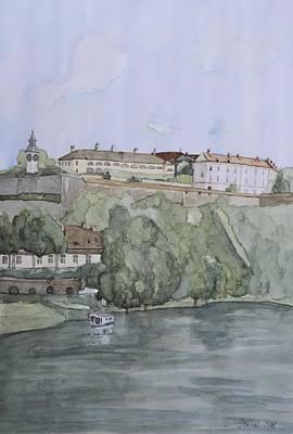 Petrovaradin Fortress Art Print by Desimir Rodic