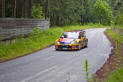 2010 Wrc Photograph - Petter Solberg/chris Patterson by Boyan Dimitrov