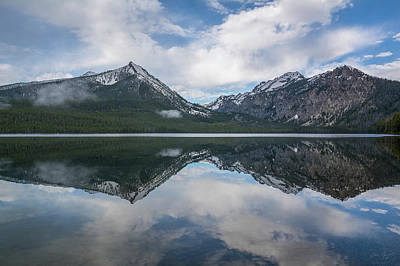 Photograph - Pettit Lake by Aaron Spong