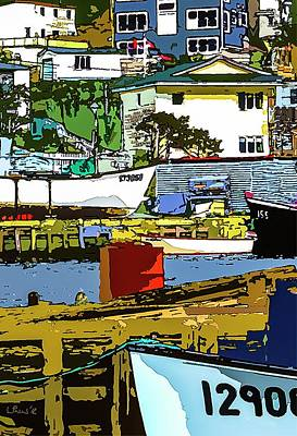 Painting - Petty Harbor by Bill Linn