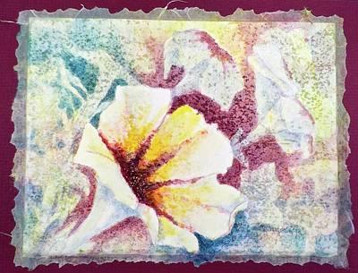 Painting - Petunia Array by Carolyn Rosenberger