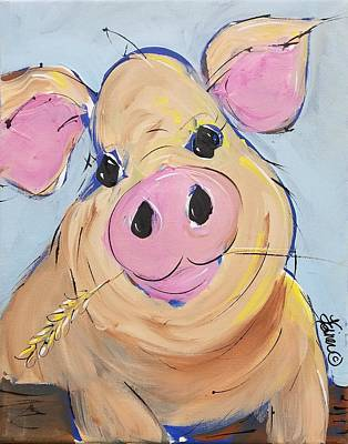 Painting - Petunia by Terri Einer