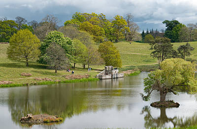 Photograph - Petworth Lake In April by Michael Hope