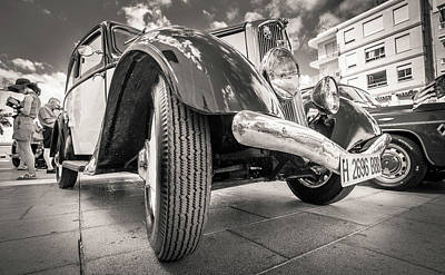 Photograph - Peugeot 201 by Gary Gillette