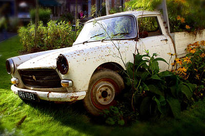 Peugeoted Art Print by Jez C Self