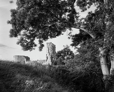 Photograph - Pevensey Castle by Will Gudgeon