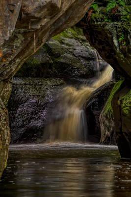 Photograph - Pewit's Nest Last Waterfall by Dale Kauzlaric