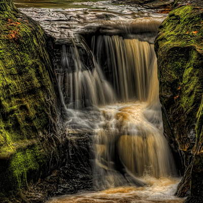 Photograph - Pewits Nest Middle Falls Square by Dale Kauzlaric