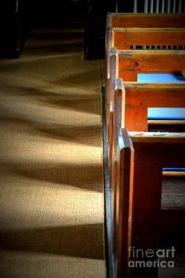 Photograph - Pews by Andy Thompson