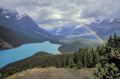 Photograph - Peyto Lake 01 by Jim Dollar