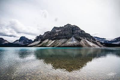 Photograph - Peyto Lake Alberta by Adnan Bhatti