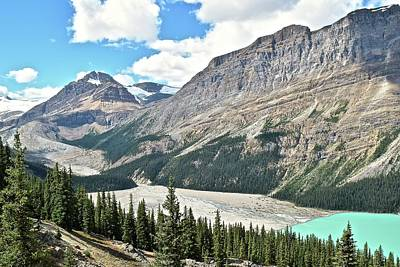Athabasca Falls Photograph - Peyto Lake Alternate View by Frozen in Time Fine Art Photography