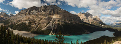 Photograph - Peyto Lake, Banif National Park by Bing Crosby