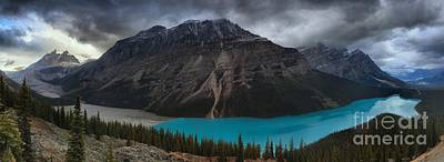 Photograph - Peyto Lake Creamy Blues by Adam Jewell