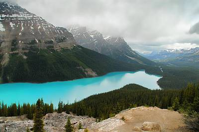 Photograph - Peyto Lake by Dyle   Warren