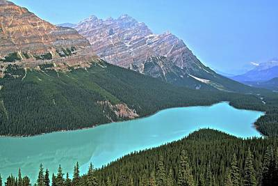 Photograph - Peyto Lake by Frozen in Time Fine Art Photography