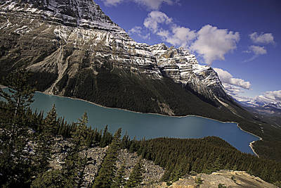 Photograph - Peyto Lake by John Gilbert
