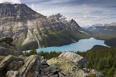 Photograph - Peyto Lake Lake Louise, Alberta, Canada by Philippe Widling