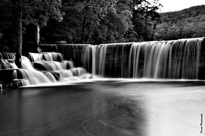 Photograph - Peyton Creek Dam by Wesley Nesbitt
