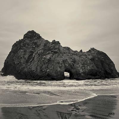 Photograph - Pfeiffer Beach II Toned by David Gordon