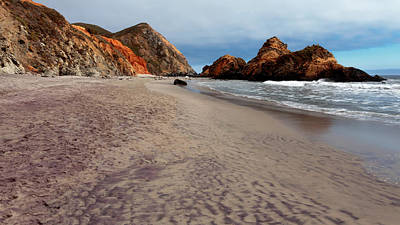 Photograph - Pfeiffer Beach by Susan Rissi Tregoning