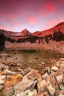 Photograph - Pfeifferhorn Sunrise by Johnny Adolphson