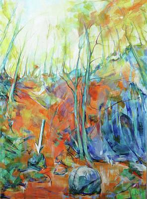 Painting - Pfeil - Arrow by Koro Arandia