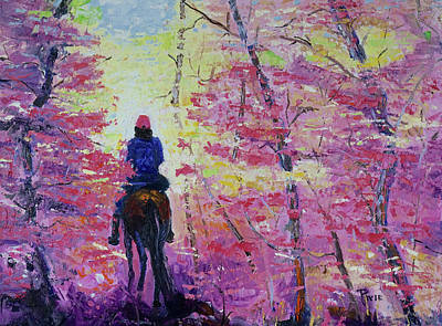 Painting - Pglore_fall Meditation_oil_18-24.jpg by Pixie Glore