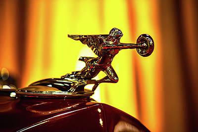 Photograph - Phaeton Hood Ornament by Garry Gay