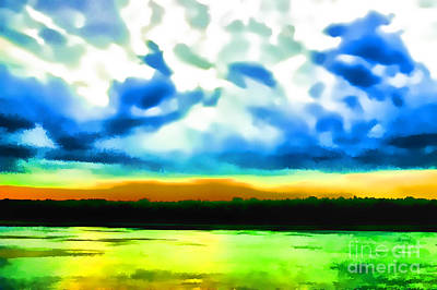 Photograph - Phamtoms In The Sky by Rick Bragan