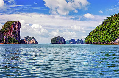 Thailand Photograph - Phang Nga Bay - Thailand by Steve Harrington