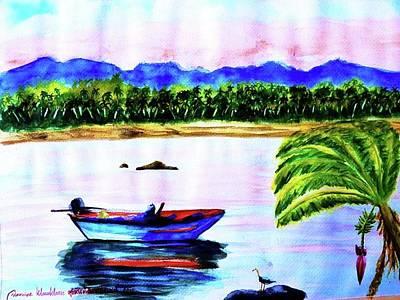 Painting - Phangan Island by Wanvisa Klawklean