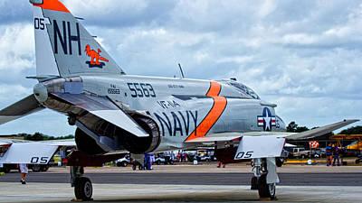 Mcdonnell Douglas F-4 Phantom Ii Photograph - Phantom by Dieter Lesche