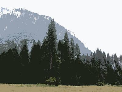 Digital Art - Phantom Mountain 4 by Eric Forster