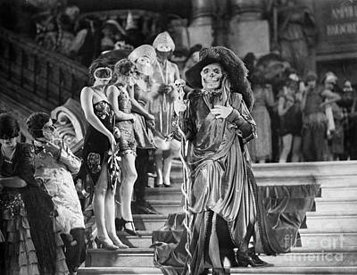 Interior Scene Photograph - Phantom Of The Opera, 1925 by Granger