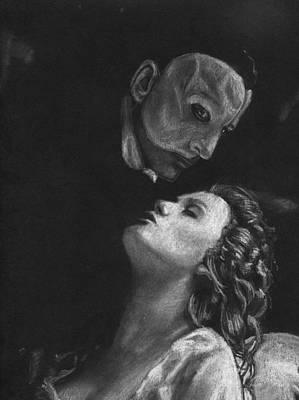 Phantom Of The Opera Print by Rosalinda Markle