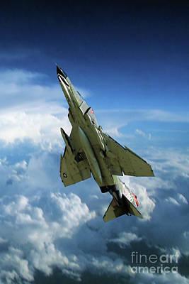 Transportation Digital Art - Phantom Power Out by Airpower Art