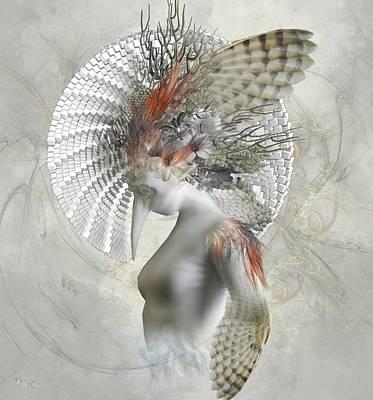 Digital Art - Phantom Wings by Ali Oppy