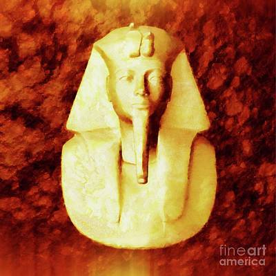 Egypt Digital Art - Pharaoh By Sarah Kirk by Sarah Kirk