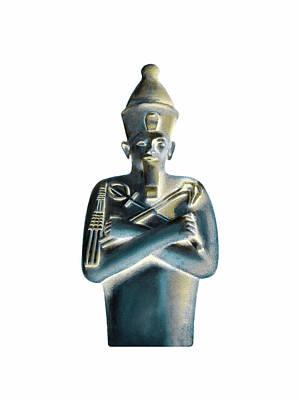 Digital Art - Pharaoh by Elizabeth Lock